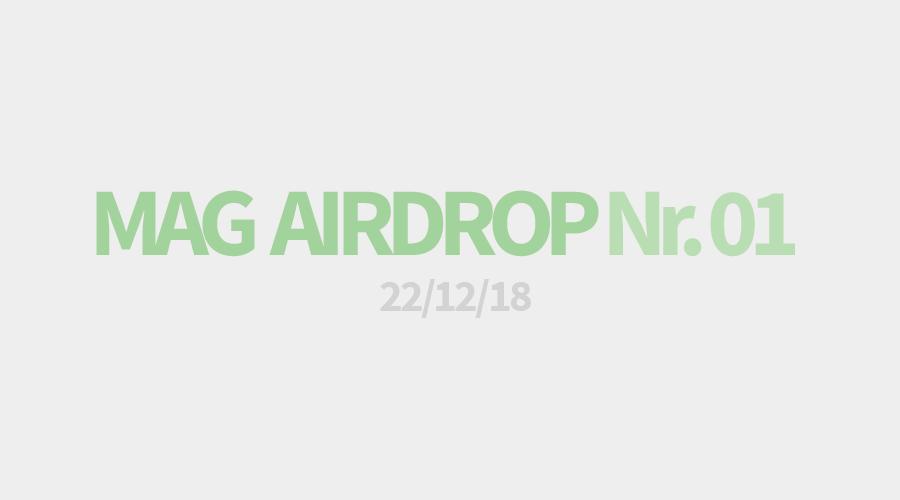 MAG AIRDROP NO.1 / 22.12.2019