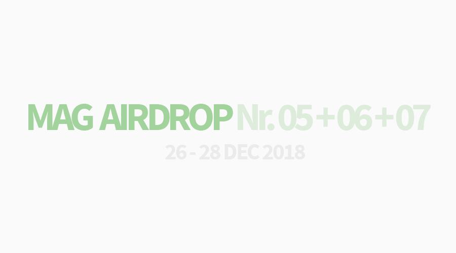 MAG AIRDROP NO. 5 + 6 + 7 / 26.12.2019 + 27.12.2019 + 28.12.2019